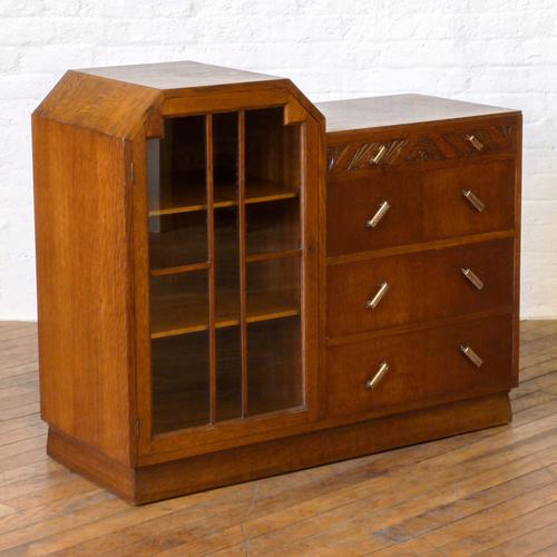 Art Deco Cabinet with Drawers (1 of 1)