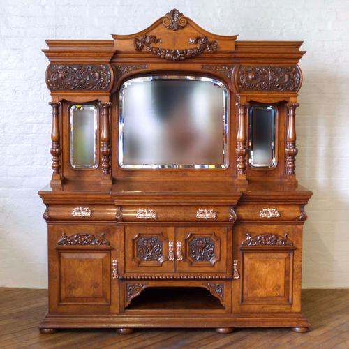 Victorian Pollard Oak Sideboard (1 of 22)
