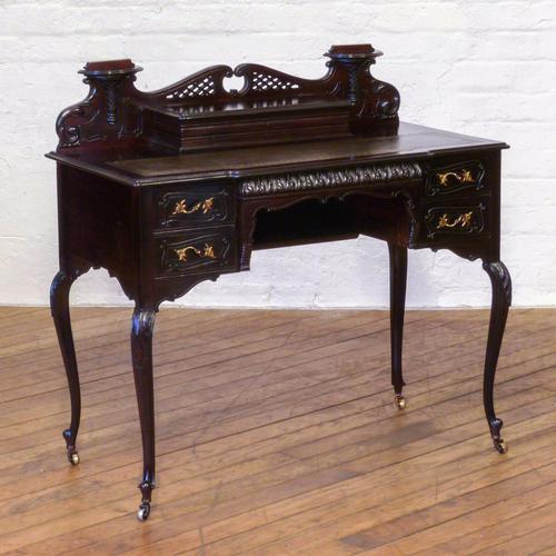 Edwardian Mahogany Ladies Writing Desk (1 of 15)