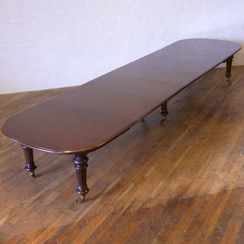 Victorian Extending Mahogany Table (1 of 1)