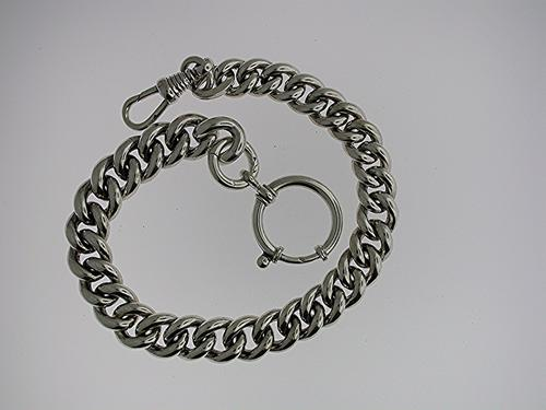 Silver Pocket Watch Chain (38) (1 of 1)