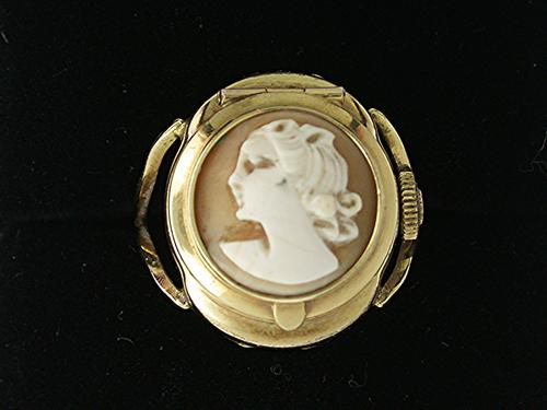 Rare Exquisite Gold-Filled Ladies Ring Watch Winegartens Swiss 1960 (1 of 1)