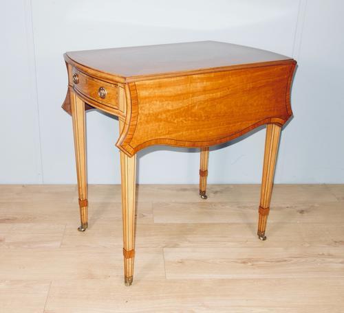 Satinwood Pembroke Table c.1930 (1 of 12)