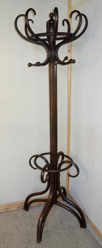 Bentwood Hat Coat Hall Stand c.1920 (1 of 1)