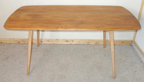 Ercol Plank Dining Kitchen Table (1 of 1)