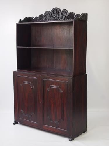 Antique Anglo Indian Dresser with Ganesh Carved Top (1 of 23)