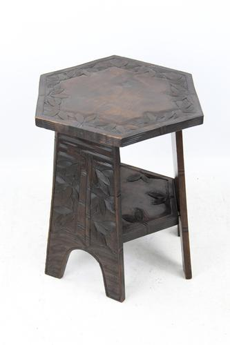Small Anglo-Japanese Coffee Table (1 of 13)
