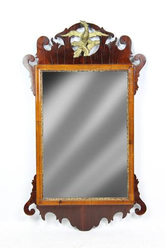 Antique Chippendale Mahogany Fretwork Mirror (1 of 13)