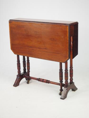 Antique Victroian Sutherland Table by Cornelius V Smith c.1895 (1 of 1)