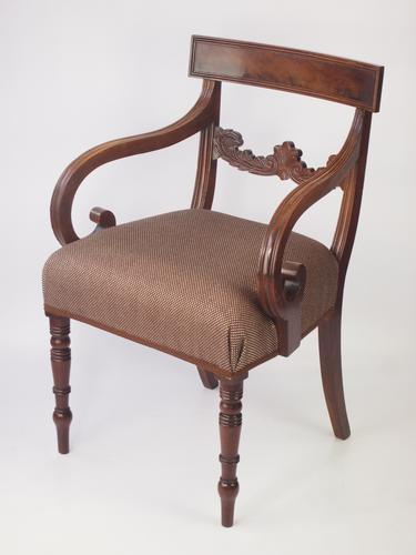 Antique Mahogany Desk Chair c.1830 (1 of 1)