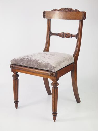 William IV Rosewood Desk Chair (1 of 1)