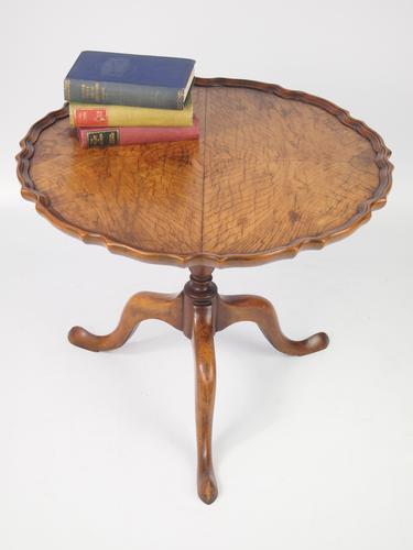 Walnut Tilt Top Coffee Table c.1920 (1 of 1)