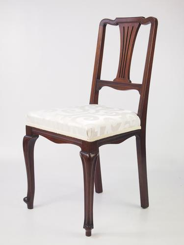 Small Edwardian Dressing Table Chair (1 of 1)