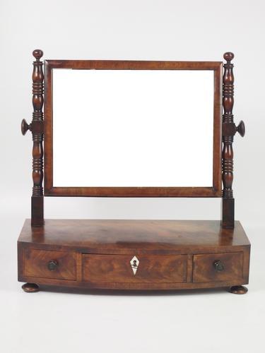 Regency Mahogany Toilet Mirror or Dressing Table Mirror (1 of 1)