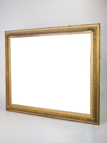 Large Antique Victorian Gilt Framed Mirror (1 of 1)