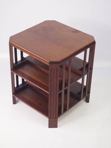 Art Deco Mahogany Book Table / Coffee Table (1 of 1)