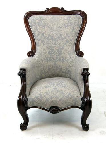 Fabulous Mahogany Victorian Armchair c.1870 (1 of 1)