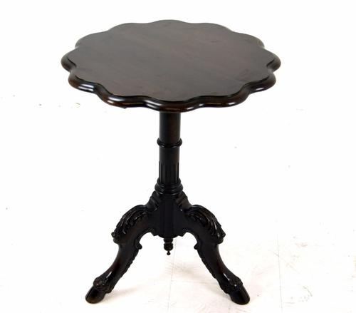 Unusual Mahogany Victorian Side Table c.1880 (1 of 1)