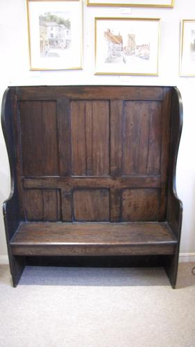 19th Century Antique Settle (1 of 1)