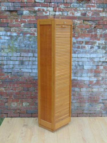 1940/50s Tambour Front Filing Cabinet (1 of 1)