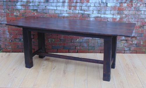 Oak Refectory Dining Table c.1900-1910 (1 of 1)