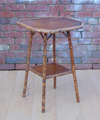 Victorian Bamboo Table c.1890 (1 of 1)