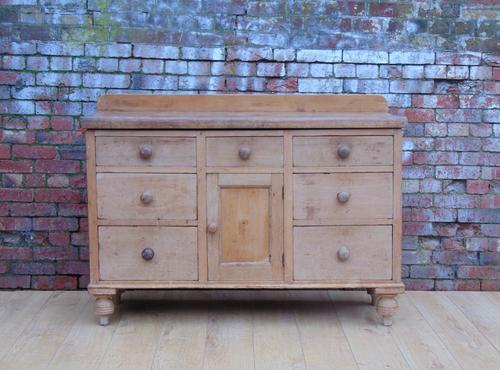 Victorian Pine Dresser Base c.1880 (1 of 1)