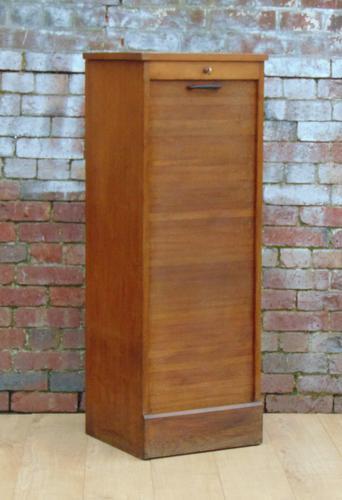 1940s Oak Filing Cabinet (1 of 1)