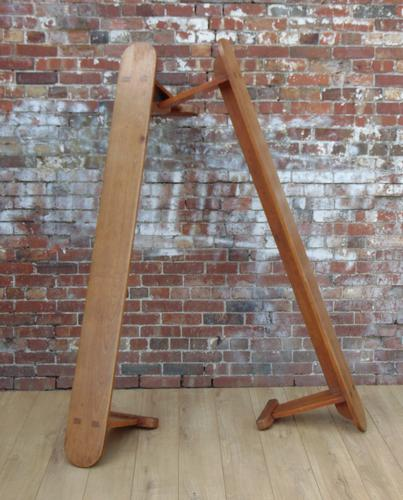 Pair of Cherrywood Benches (1 of 1)