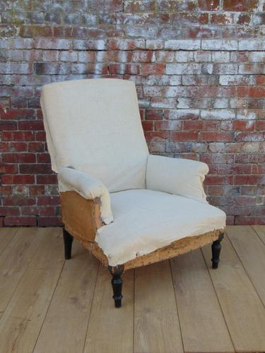 19th Century French Armchair for re-upholstery (1 of 1)