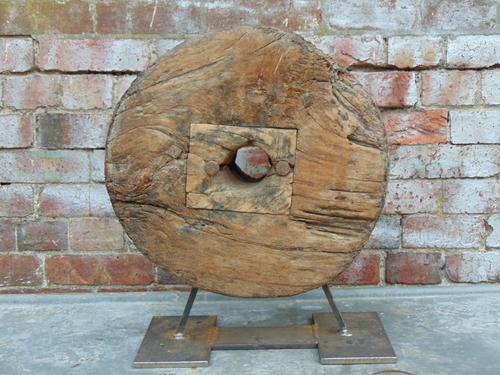 19th Century Decorative Wooden Wheel (1 of 1)