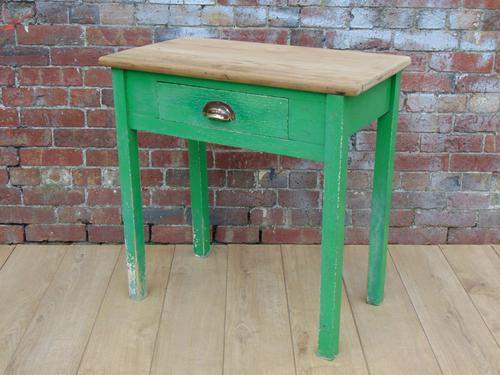 Scrub Top Side Table c.1920 (1 of 1)
