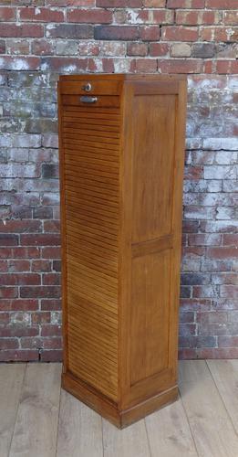 Tambour Filing Cabinet (1 of 1)