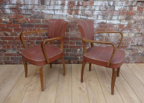 Pair of 1930s Bridge Chairs for re-upholstery (1 of 1)