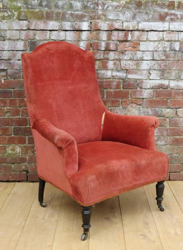 Antique French Armchair for reupholstery (1 of 1)