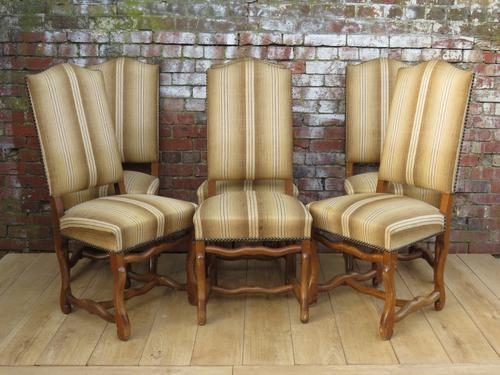 Six Os De Mouton Dining Chairs for re-upholstery (1 of 1)