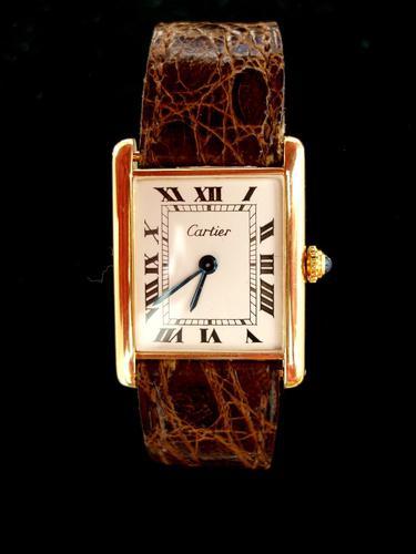 Cartier 1950 Rare Tank Wristwatch (1 of 1)