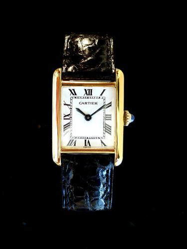 Cartier Ladies Tank (1 of 1)