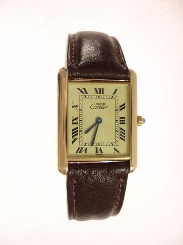 Cartier Tank Gents Quartz Model (1 of 1)
