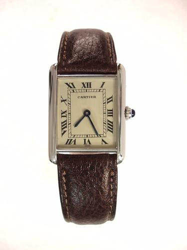 Cartier Gents Silver (1 of 1)