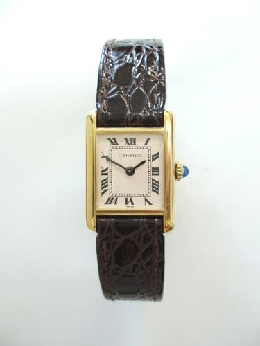 Cartier Tank Ladies Size (1 of 1)