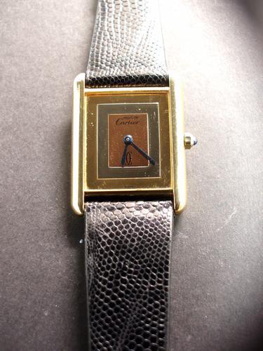 Cartier Trilogy Tank Watch (1 of 1)