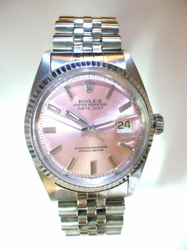 Rolex Perpetual Datejust Pink (1 of 1)