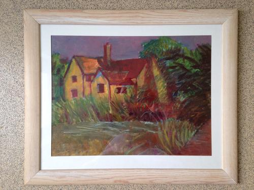 Oil on Canvas Painting signed by Noted Artist Harold Kopel (1915- 2009) ( Free shipping to UK) (1 of 1)