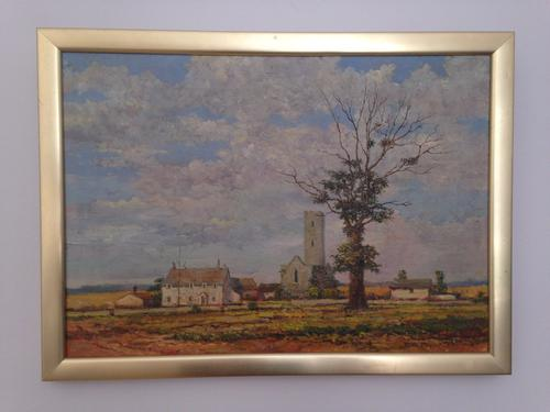 Original Oil Painting on Canvas Landscape Signed & Dated by Tom Tailor 1979 (1 of 1)