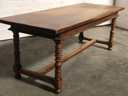French Farmhouse Dining Table Lovely Patina (1 of 23)
