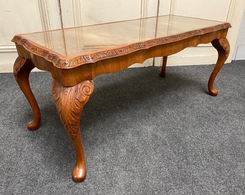Burr Walnut Coffee Table c.1920 (1 of 11)