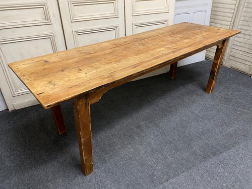 19th Century Pine Kitchen Table (1 of 10)