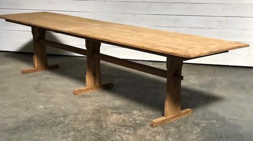 Extra Long French Farmhouse Dining Table (1 of 11)