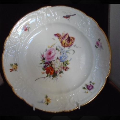 Superb Nantgarw Plate c.1818 (1 of 12)